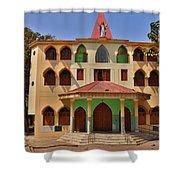 Lupita Church Shower Curtain
