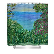 Lush Brush Shower Curtain