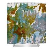 'lush' Shower Curtain