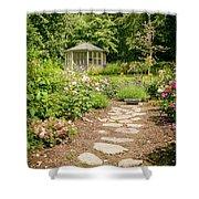 Lush Landscaped Garden Shower Curtain
