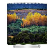 Lush New Zealand Countryside Shower Curtain