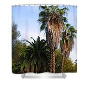 Lush Palms Shower Curtain