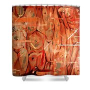 Lust II Shower Curtain