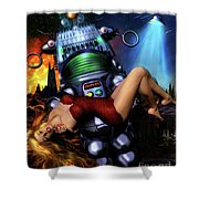 Lust In Space Shower Curtain