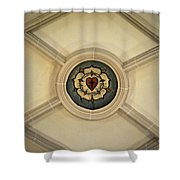 Luther Rose At St Peter And Paul Shower Curtain