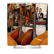 Luthier 2 Shower Curtain