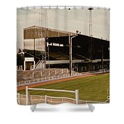 Luton Town - Kenilworth Road - Main Stand East Side 1 - 1970s Shower Curtain