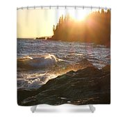 Lutsen Shore Shower Curtain