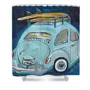 Luvbug Shower Curtain