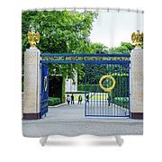 Luxembourg American Cemetery And Memorial Shower Curtain