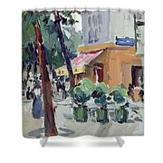 Luxembourg Gardens Shower Curtain