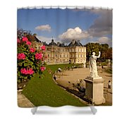 Luxembourg Palace Shower Curtain