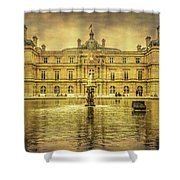 Luxembourg Palace Paris Shower Curtain