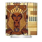 Luxor Deluxe Shower Curtain by Tara Hutton