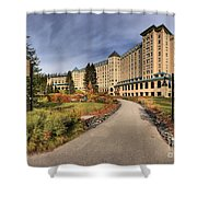 Luxury Chateau Lake Louise Shower Curtain