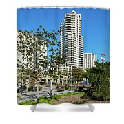 Luxury High Rise Apartments Shower Curtain