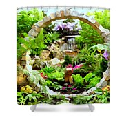 Luxury Landscape Shower Curtain