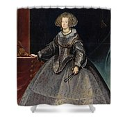 Luycks, Frans Amberes, 1604 - Viena, 1668 Maria Of Austria, Queen Of Hungary Ca. 1635 Shower Curtain