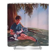 Luz And Me Shower Curtain