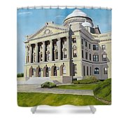 Luzerne County Courthouse Shower Curtain