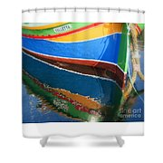 Luzzu Reflections Shower Curtain