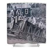 Lykens Valley Miners Shower Curtain