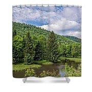 Lyman Run State Park Shower Curtain