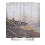 Lyme Regis Dorset Shower Curtain