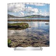 Lyme Regis Seascape 3 - October Shower Curtain