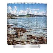 Lyme Regis Seascape 5 - October Shower Curtain