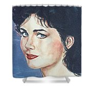 Lynda Carter Shower Curtain