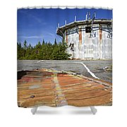 Lyndonville Air Force Station - Vermont Shower Curtain