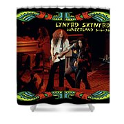L S At Winterland 2 Shower Curtain