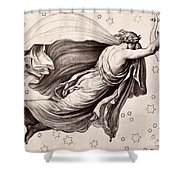 Lyre Of Orpheus Shower Curtain