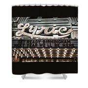 Lyric Theater Birmingham Shower Curtain
