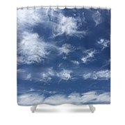 Lyrical Skyscape Shower Curtain