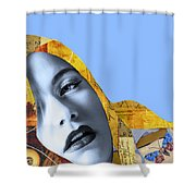 M. Butterfly Shower Curtain