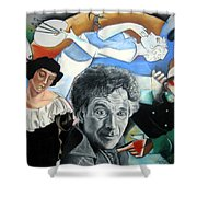 M Chagall Shower Curtain
