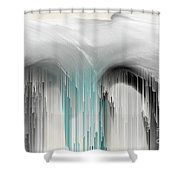 M For Mindful  Shower Curtain