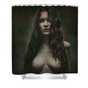 M Shower Curtain