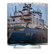 M/v Algowood Shower Curtain
