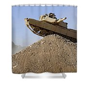 M1 Abrams Shower Curtain
