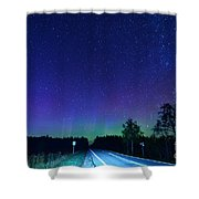 M123 Into Paradise Shower Curtain