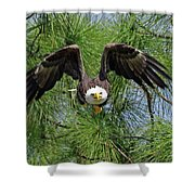 M15 Great Take Off Shower Curtain