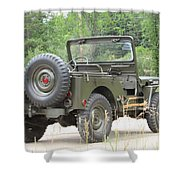 M38 Shower Curtain