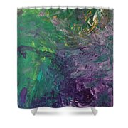 M45 Pleyades  Shower Curtain