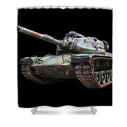 M48a2 Tank Shower Curtain