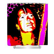 Ma Jaya Sati Bhagavati 10 Shower Curtain by Eikoni Images