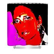 Ma Jaya Sati Bhagavati 11 Shower Curtain by Eikoni Images