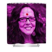 Ma Jaya Sati Bhagavati 12 Shower Curtain by Eikoni Images